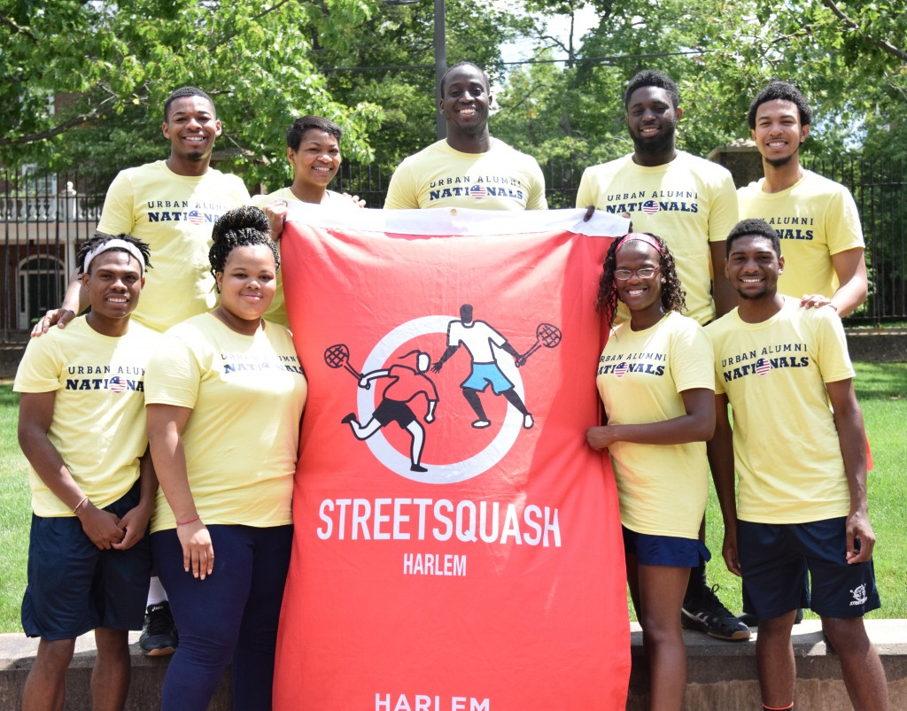 The StreetSquash Harlem Alumni